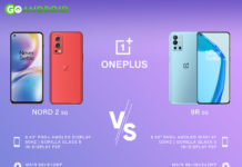 OnePlus Nord 2 5g v/s OnePlus 9R