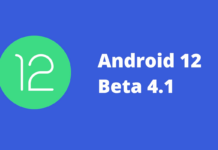 Android 12 Beta 4.1